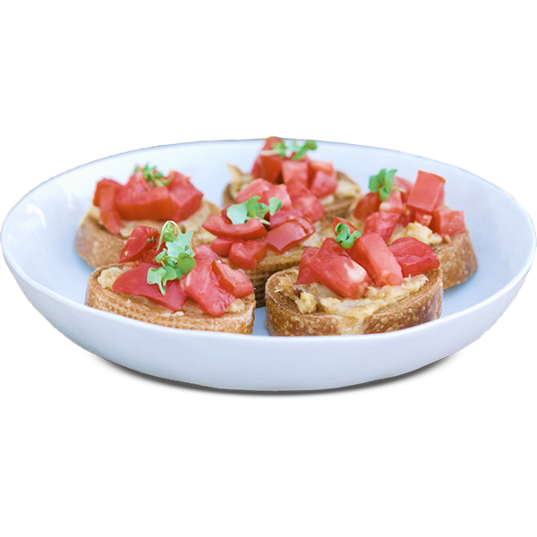 Alt text: Garlic Bruschetta